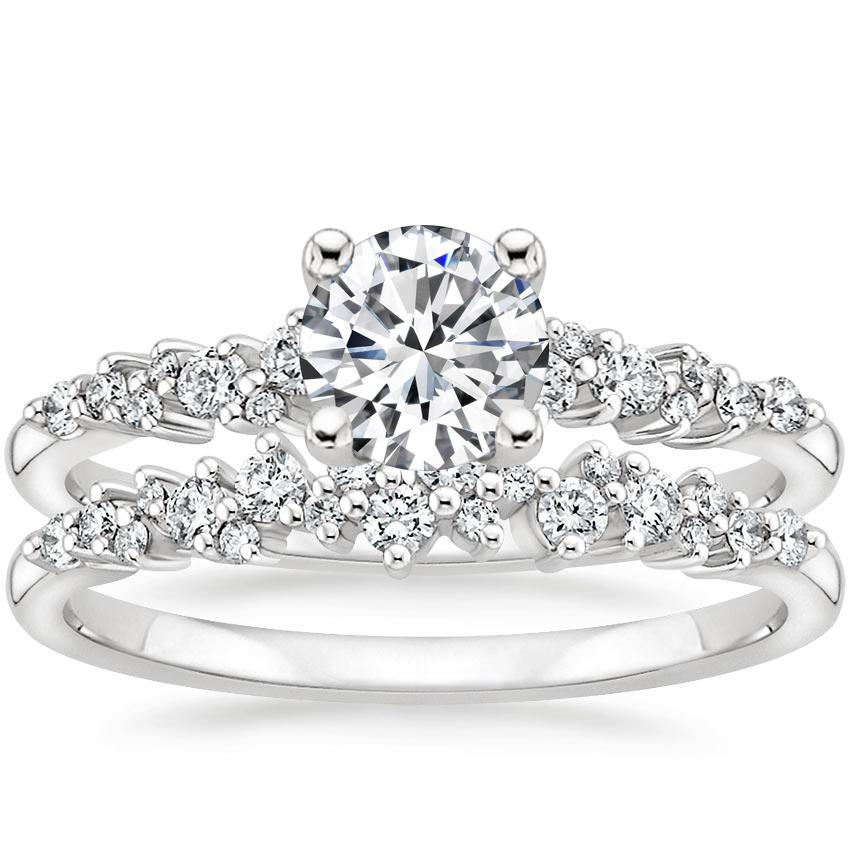 18K White Gold Aurora Diamond Bridal Set (1/3 ct. tw.)
