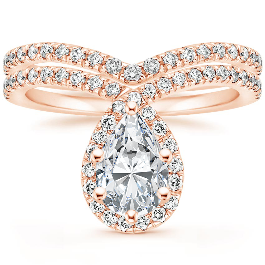 14K Rose Gold Reese Diamond Bridal Set (1/2 ct. tw.)