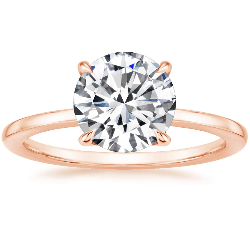 Round Surprise Diamond Setting