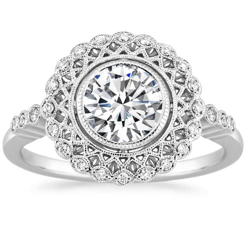 Top Twenty Engagement Rings - ALVADORA DIAMOND RING