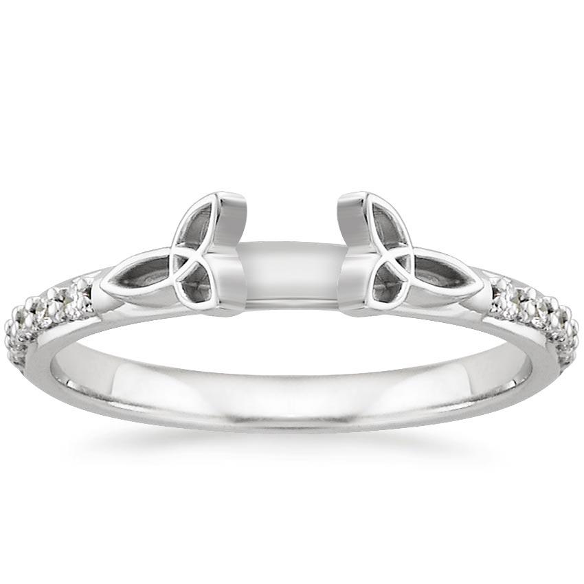 Diamond Luxe Celtic Love Knot Ring Brilliant Earth