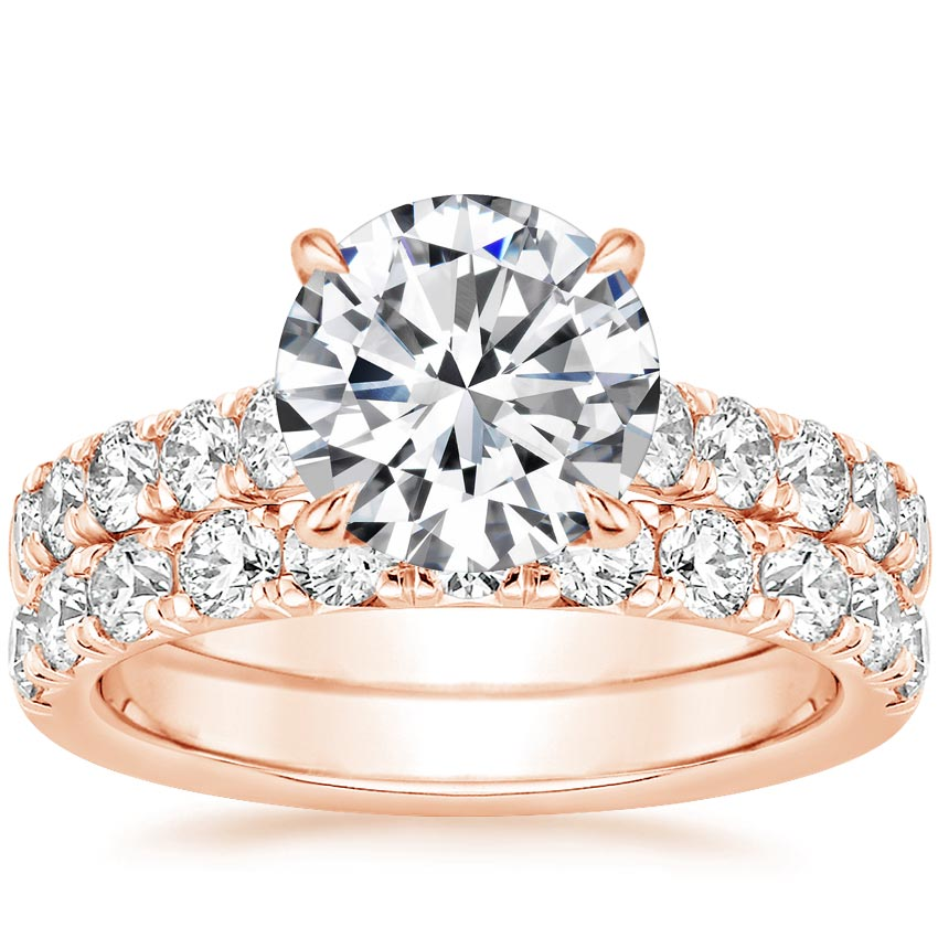 14K Rose Gold Luxe Anthology Bridal Set (1 1/5 ct. tw.)