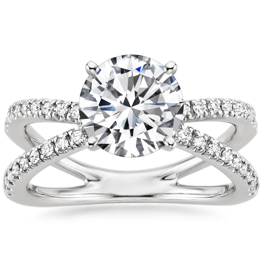 Round Diamond Wrap Ring