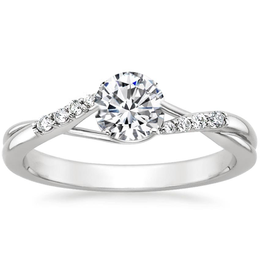 Trellis Twist Engagement Ring | Chamise | Brilliant Earth