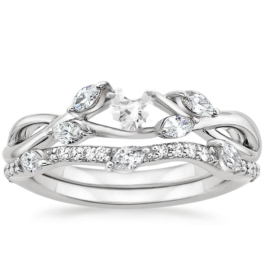 shadow with cut real princess three ring wedding side diamonds stone rings in platinum diamond ctw me engagement