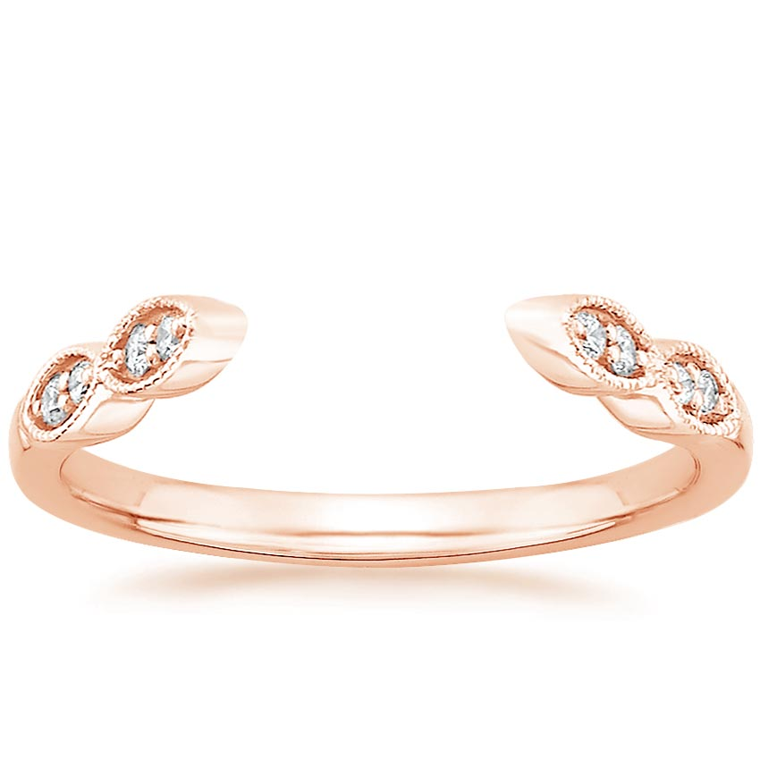 charm rose serenade ring solitaire gold engagement rings product