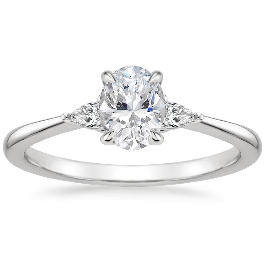 Oval Pear Diamond Ring