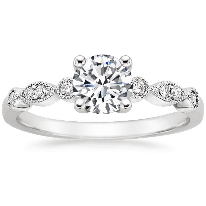 Top Ten Pinned Rings - TIARA DIAMOND RING