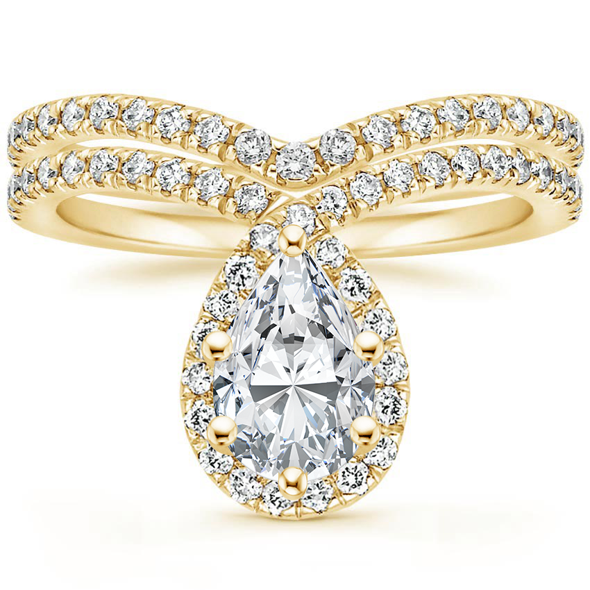 18K Yellow Gold Reese Diamond Bridal Set (1/2 ct. tw.)