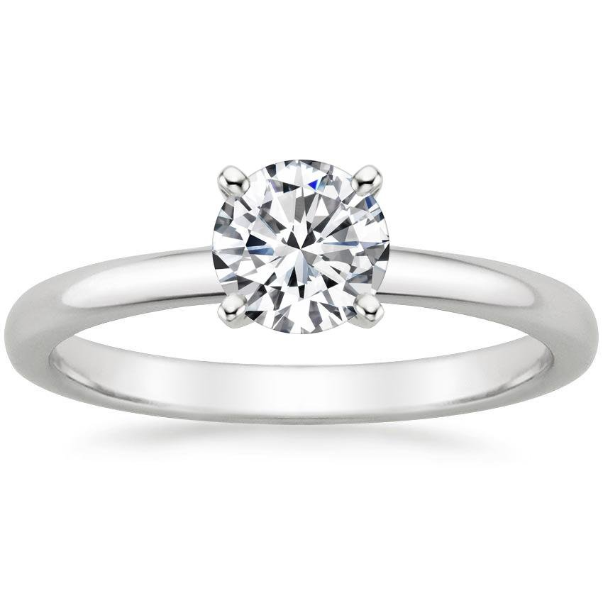 Top Twenty  Engagement Rings - 2MM COMFORT FIT RING