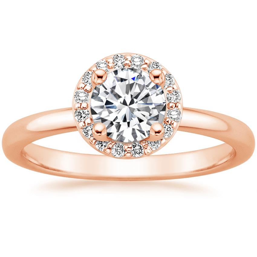Top Ten Pinned Rings - HALO DIAMOND RING (1/6 CT. TW.)