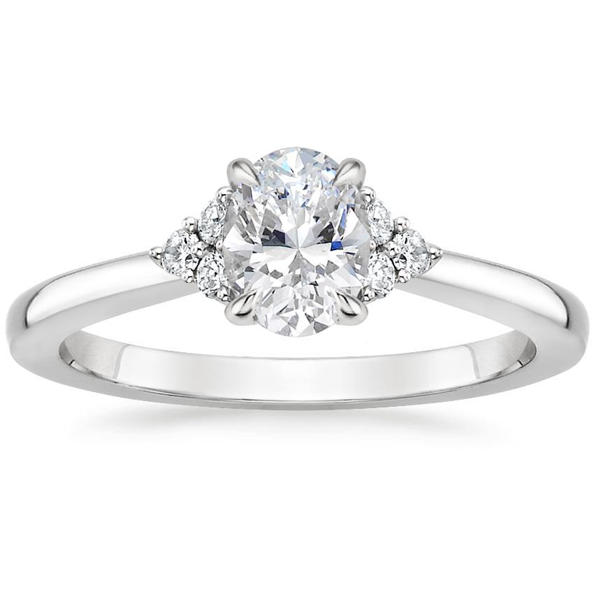 Oval Delicate Diamond Ring