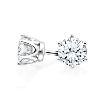 p views stud studs cubic diamond htm cz gold simulated earrings alternative zirconia