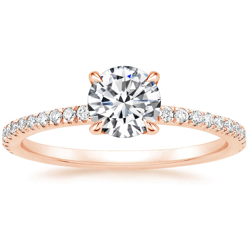 Top Twenty  Engagement Rings - LUXE VIVIANA DIAMOND RING (1/3 CT. TW.)