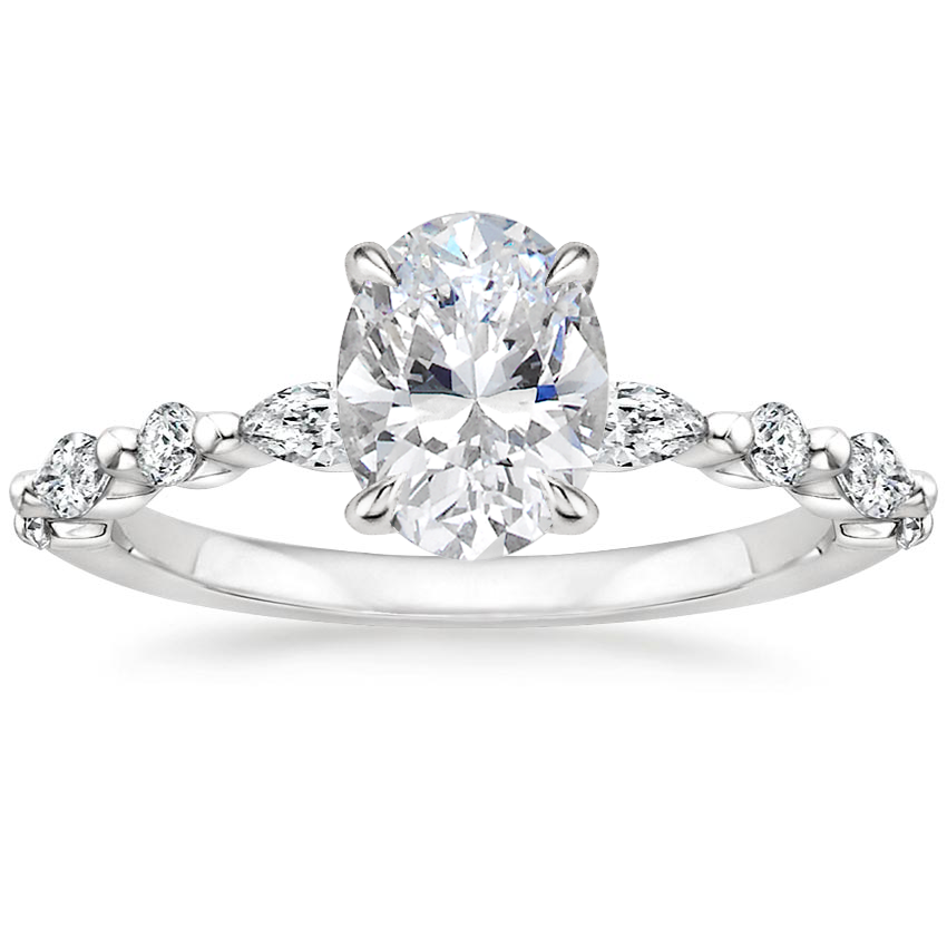 Top Twenty  Engagement Rings - VERSAILLES DIAMOND RING (1/3 CT. TW.)