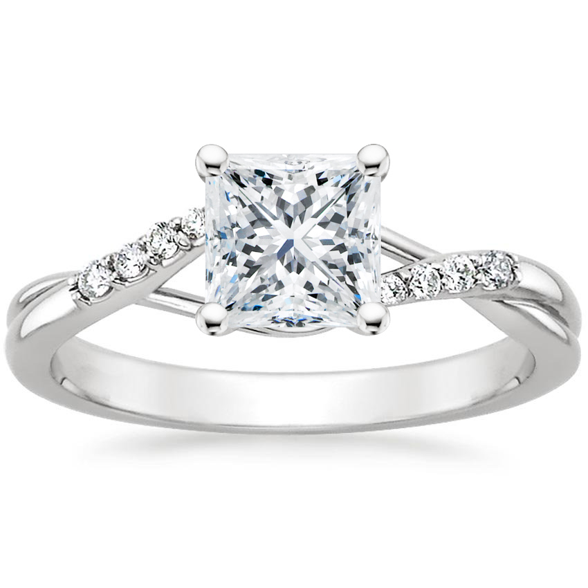 Top Twenty Engagement Rings - CHAMISE DIAMOND RING