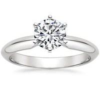 Top Engagement Rings - Six-Prong Classic Ring