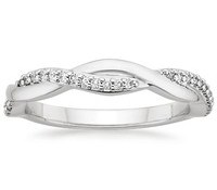 Top Women's Wedding Rings – Twisted Vine Diamond Ring