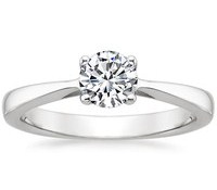 Top Engagement Rings - Petite Tapered Trellis Ring
