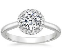 Top Engagement Rings - Halo Diamond Ring
