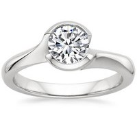 Top Engagement Rings - Cascade Ring