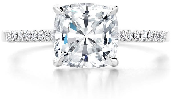 be2b0fefe When selecting a diamond, your first priority is usually to choose a shape.  Learn about round brilliant diamonds and fancy shaped diamonds such as  princess, ...