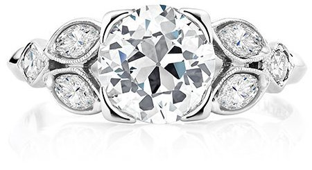 ce032014d Antique diamonds are sought after today for their warm, romantic  appearance. Learn more about diamonds and gemstones set in Brilliant Earth antique  rings.