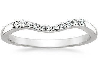 straight vs contoured rings - How To Wear Your Wedding Ring