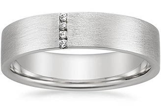 mens diamond wedding bands - Mens Wedding Ring With Diamonds
