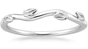 plain wedding bands these wedding rings - Wedding Ring Styles