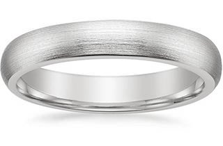bands with varied widths - Lesbian Wedding Rings