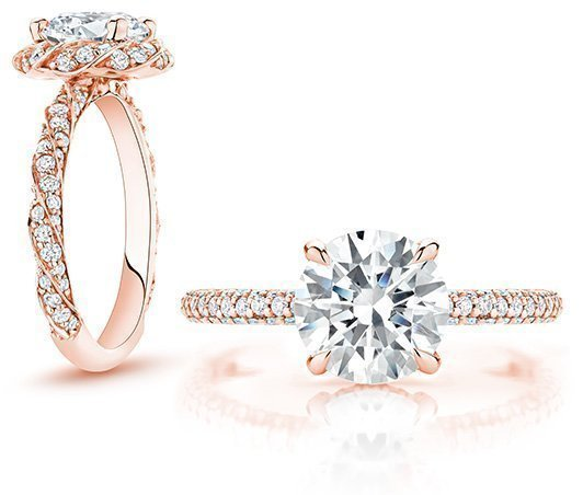 Pink Engagement Rings Brilliant Earth