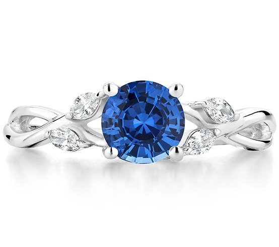 Brilliant Earth Sapphire Nature Inspired Engagement Ring