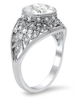 art nouveau jewelry brilliant earth