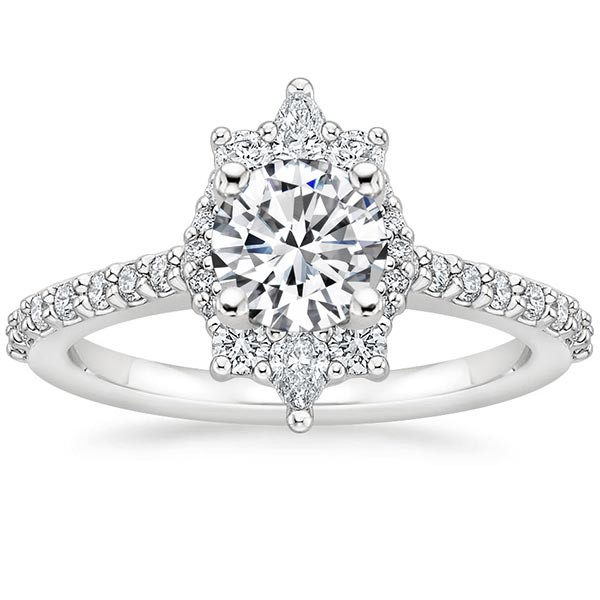 Alma Diamond Ring