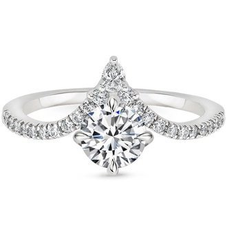Nouveau Diamond Ring