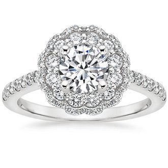 Rosa Diamond Ring