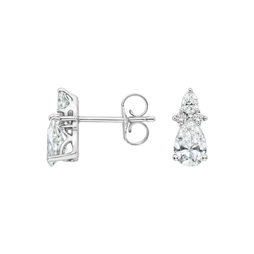 Nouveau Diamond Earrings