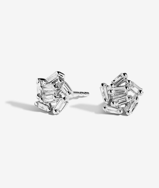 Diamond Gemstone Earrings Brilliant Earth Fine Jewelry