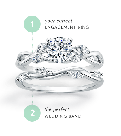 find my matching wedding ring - Wedding Band And Engagement Ring
