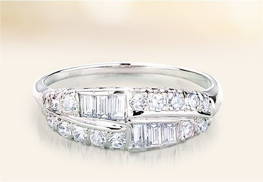 find the perfect vintage wedding rings to make a romantic statement that lasts forever - Vintage Wedding Ring